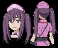 Kouzaku Mitori Character Design (Face)