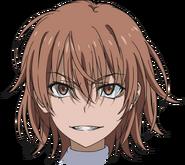 Misaka Worst head (Anime)