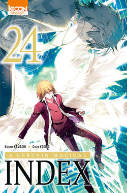 A Certain Magical Index Manga v24 French cover.jpg