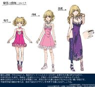 Gokusai sisters ver. 1.7 design