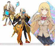 Shokuhou Misaki & Angelan (Virtual-On game)