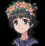 Uiharu Kazari Face (Index III Anime Design)