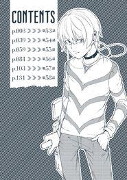 Toaru Kagaku no Accelerator Manga Volume 11 Table of Contents