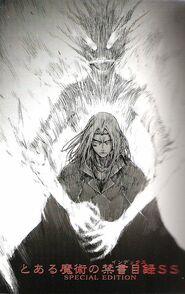 Toaru Majutsu no Index Light Novel Volume SS Special Edition Title Page