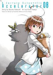 Toaru Kagaku no Accelerator Manga Volume 08 Title Page