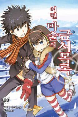 Toaru Majutsu no Index Light Novel v20 Korean cover.jpg