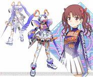 Shirai Kuroko & Fei-Yen kn (Virtual-On game)