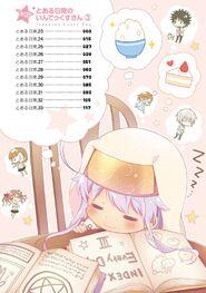Toaru Nichijou no Index-san Manga v03 Table of Contents