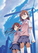 Toaru Kagaku no Railgun Manga v01 early cover design