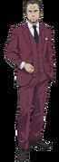 Nakimoto Rizou Body (Accelerator Anime Design)