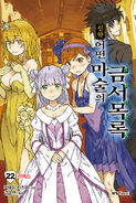 Shinyaku Toaru Majutsu no Index Light Novel v22R Korean cover