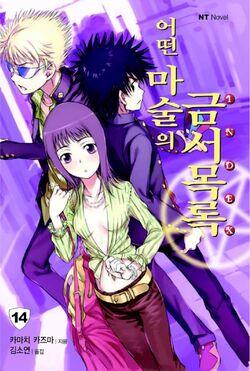Toaru Majutsu no Index Light Novel v14 Korean cover.jpg