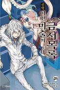Shinyaku Toaru Majutsu no Index Light Novel v21 Korean cover