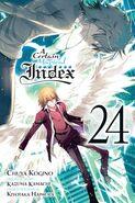 A Certain Magical Index Manga v24 Cover
