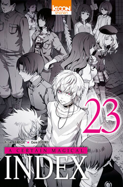 A Certain Magical Index Manga v23 French cover.jpg