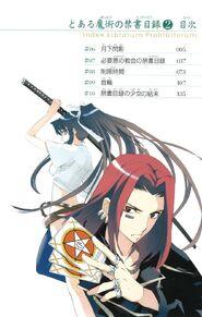 Toaru Majutsu no Index Manga v02 Table of Contents