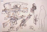 Anti-Skill's Firearm (Anime Design)