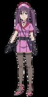 Kouzaku Mitori Character Design (Body)