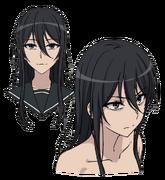 Seike Face (Accelerator Anime Design)