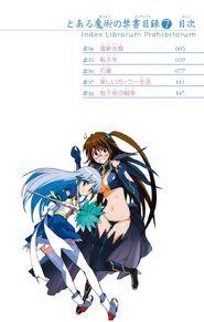 Toaru Majutsu no Index Manga v07 Table of Contents