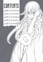 Toaru Kagaku no Accelerator Manga Volume 04 Table of Contents