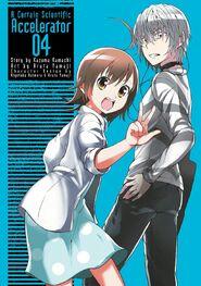 Toaru Kagaku no Accelerator Manga Volume 04 Title Page