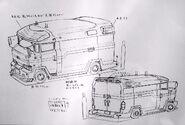 Anti-Skill's Vehicle (Anime Design)