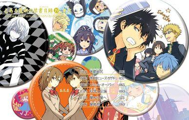 Toaru Majutsu no Index Manga v19 Table of Contents