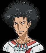 Tatemiya Saiji face (Anime)