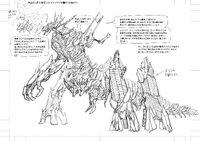 Design of Kuriba Ryouko Doppelganger's Giant Puppet version 2