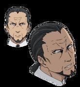Nakimoto Rizou Face (Accelerator Anime Design)
