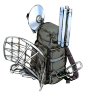 Fran's backpack and equipment