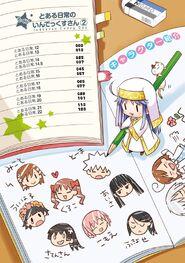 Toaru Nichijou no Index-san Manga v02 Table of Contents