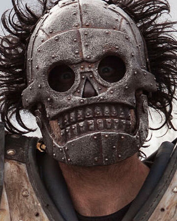 Skeletron Turbo Kid Mask