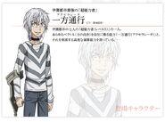 Diseño e informacion de Accelerator Toaru Majutsu to Kagaku no Ensemble