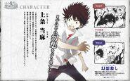 Diseño e informacion de Touma Manga Index