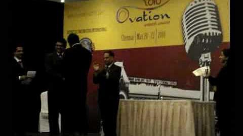 Ovation 2010 - Int'l Speech Contest Prizes
