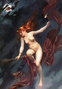 The witches Sabbath, by Luis Ricardo Falero 640