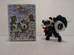 TokiDoki Unicorno Series 7 Super Panda /& Bambu