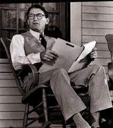 Atticus reading news
