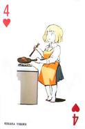 4 de corazones