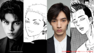 Tokyo Revengers Cast - Atsushi Maeda, Hiroya Shimizu