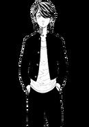 Kazutora in school uniform