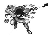Ayato's kagune — drone-projectiles