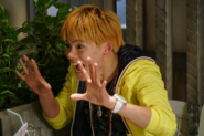 Hide appears excited