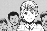 Kanou as a child