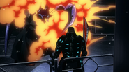 Hollow's projectile exposes in anime