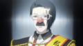 Furuta's appearance at the CCG rally anime