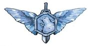 White wing medal double