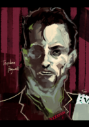 Ishida's illustration of Robert Knepper